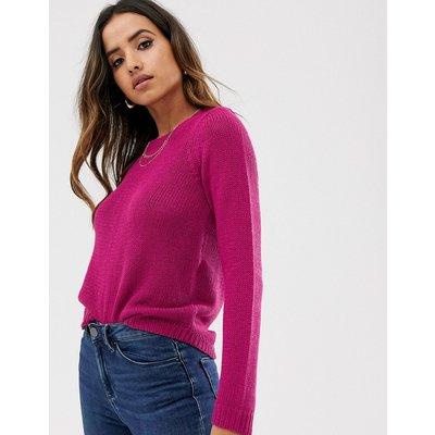 Vero Moda – Flauschiger Pullover-Rosa