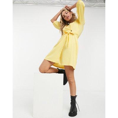 Vero Moda – Gelbes Wickelkleid