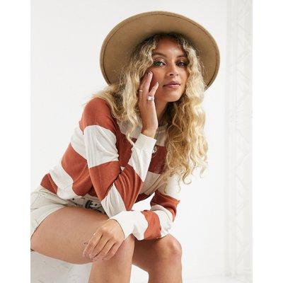 Vero Moda – Gestreiftes Sweatshirt mit Rundhalsausschnitt-Mehrfarbig