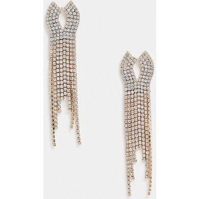 Vero Moda – Hängeohrringe in Gold