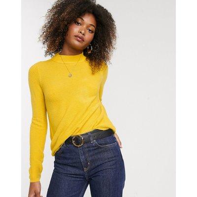 Vero Moda – Hochgeschlossener Pullover-Rot
