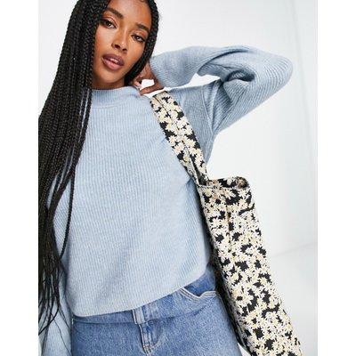 Vero Moda – Hochgeschlossener Pullover in Hellblau | VERO MODA SALE