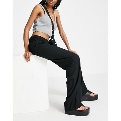 Vero Moda – Hose mit weitem Bein in Schwarz | VERO MODA SALE