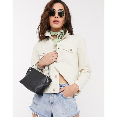 Vero Moda – Jeansjacke in Creme-Weiß | VERO MODA SALE
