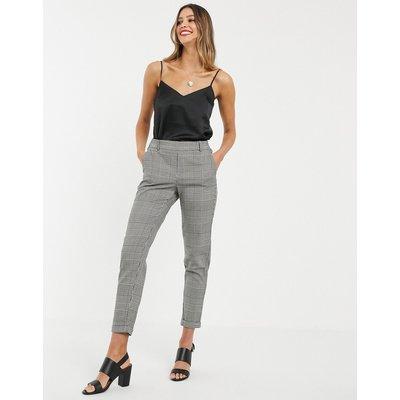 Vero Moda – Karierte Hose-Mehrfarbig