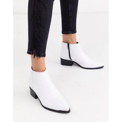 Vero Moda – Lederstiefel-Weiß | VERO MODA SALE