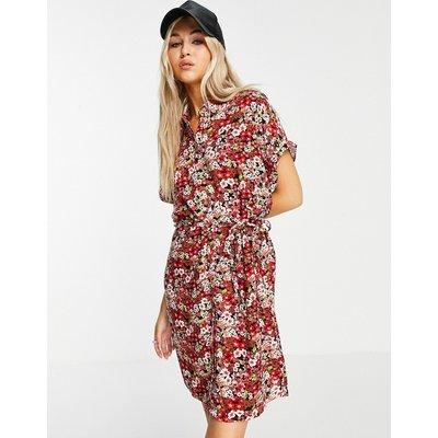 Vero Moda – Mini-Blusenkleid in Schwarz | VERO MODA SALE