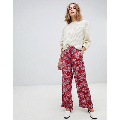 Vero Moda – Mit Blumen bedruckte Camisole-Hose-Mehrfarbig