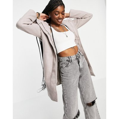 Vero Moda – Oversize-Mantel in Grau-Braun | VERO MODA SALE