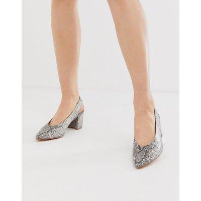 Vero Moda – Schuhe mit Fersenriemen und Schlangenhautmuster-Mehrfarbig   VERO MODA SALE