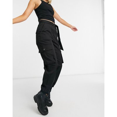 Vero Moda – Schwarze Cargo-Hose