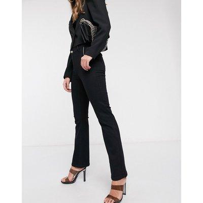 Vero Moda – Schwarze Jeans mit weitem Beinschnitt
