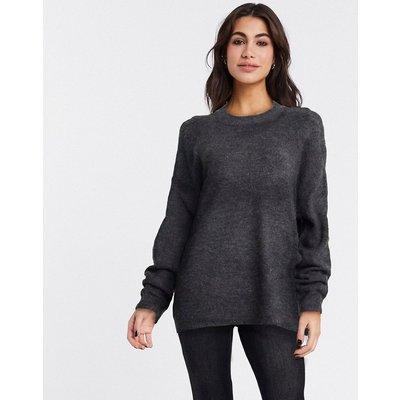 Vero Moda – Schwarzer Pullover mit Rundhalsausschnitt | VERO MODA SALE