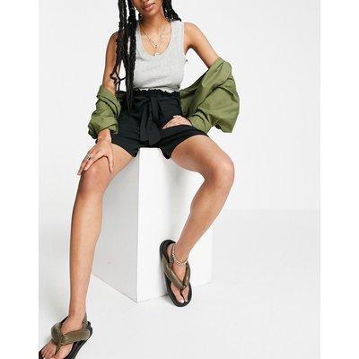 Vero Moda – Shorts mit Taillenschnürung in Schwarz | VERO MODA SALE
