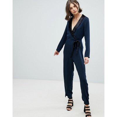 Vero Moda – Smoking-Jumpsuit-Navy