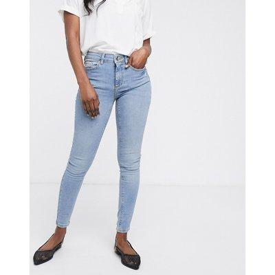 Vero Moda – Superschmale Jeans-Blau
