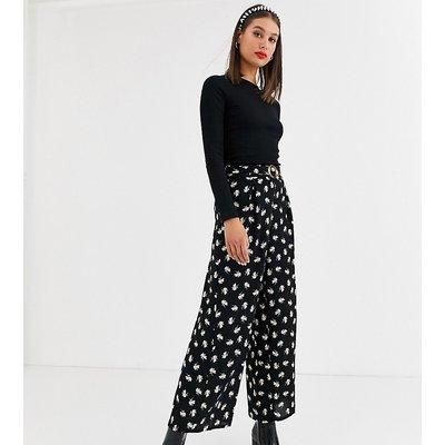 Vero Moda Tall – Geblümte Hose mit weitem Bein-Mehrfarbig