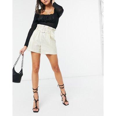 Vero Moda – Weiße PU-Shorts-Grau | VERO MODA SALE