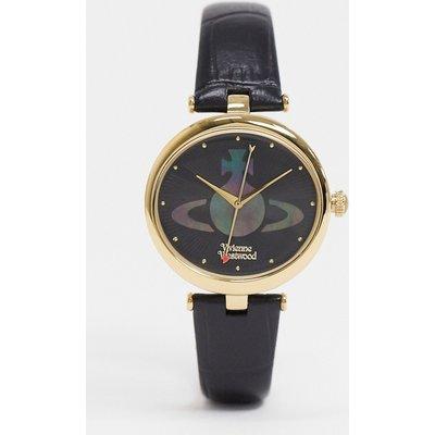 Vivienne Westwood – Belgravia – Schwarze Armbanduhr