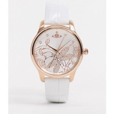 Vivienne Westwood – Fitzrovia – Weiße Armbanduhr