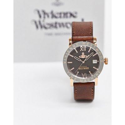 Vivienne Westwood – Kingsgate – Braune Armbanduhr