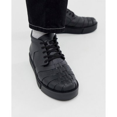 Vivienne Westwood – Sneaker mit dicker Sohle in Schwarz