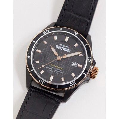Vivienne Westwood – Spitalfields – Schwarze Armbanduhr