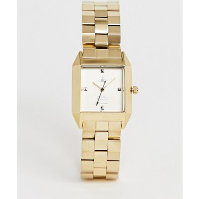 Vivienne Westwood – VV143GDGD – Hatton – Goldene Damenarmbanduhr