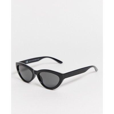 Weekday – Arrival – Cat-Eye-Sonnenbrille in Schwarz