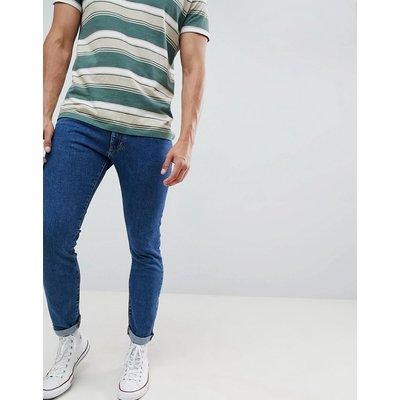 Wrangler – Bryson – Enge Jeans-Blau