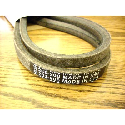 MTD and Troy Bilt Deck Belt, 42 Cut, 754-0498, 954-0498
