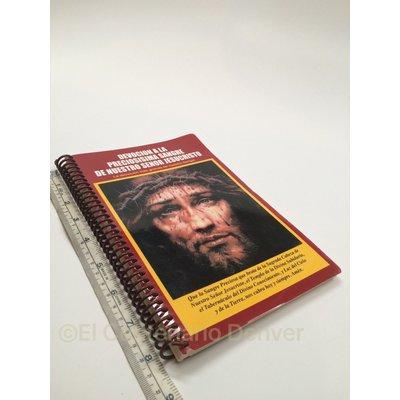 DEVOCIÓN A LA PRECIOSISIMA SANGRE DE NUESTRO SEÑOR JESUCRISTO -Libro Preciosa...