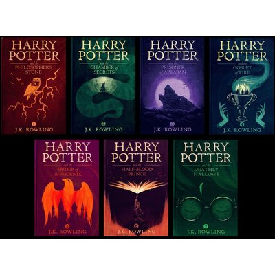 Harry Potter Audiobooks 1-7 by Jim Dale & Stephen Fry mp3 DVD