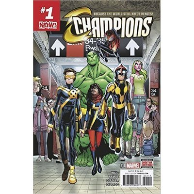 Now Champions #1 Comic Book [Comic] [Jan 01, 2016]