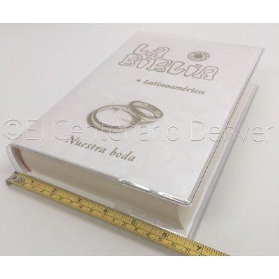 Biblia Catolica - Edicion Especial- Nuestra Boda - Letra Grande- Latinoamericana