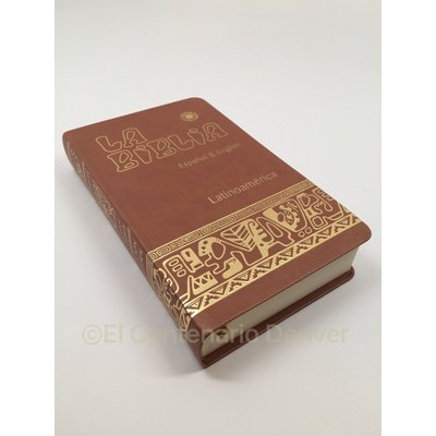Biblia Bilingue- English Spanish Español bilingual Bible -Faux Leather -CATHOLIC