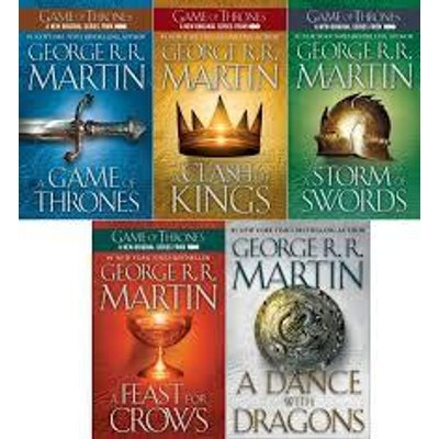 GEORGE R. R. MARTIN - GAME OF THRONES - AUDIOBOOKS