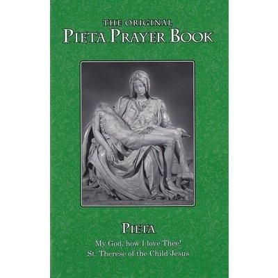 Pieta Prayer Book -LARGE PRINT- with St Bridget's 15 Prayers- Popular Devotional