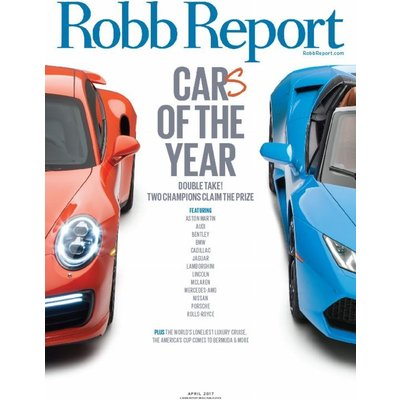 Robb Report 1-year print subscription