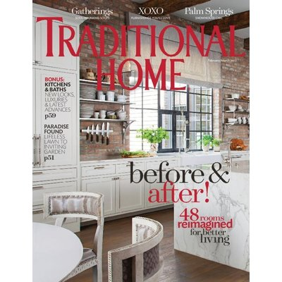 Traditional Home Magazine - Two Year Print Subscription/16 Issues