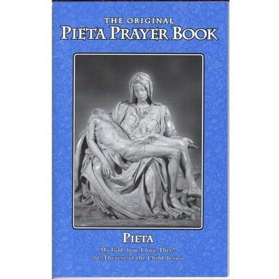 Pieta Prayer Book - Original Little Blue Book- Contains St Bridget 15 Prayers+