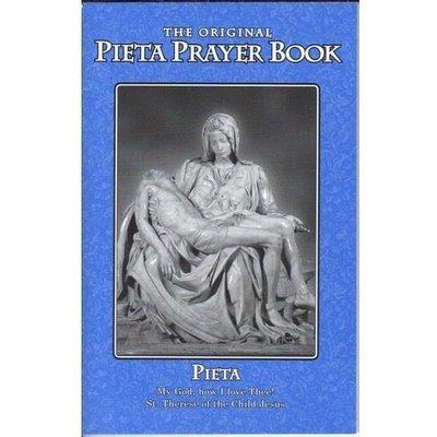 Pieta Prayer Book - Original Little Blue Book- Contains St Bridget 15 Prayers+