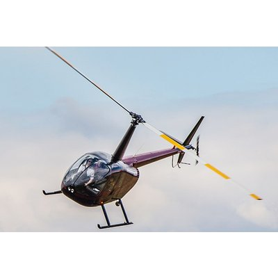 30 Minute Helicopter Flying with Non-Alcoholic Bubbly and Chocolate for Two