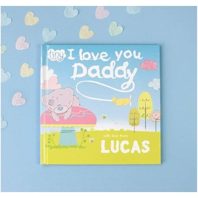 Personalised Tiny Tatty Teddy 'I Love You Daddy' Book