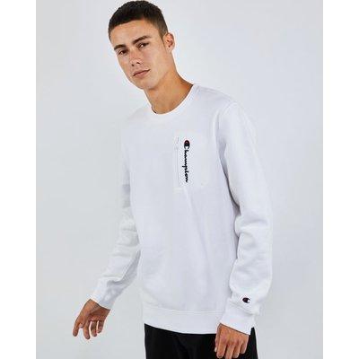 Champion Zip Logo - Sweatshirts | CHAMPION SALE