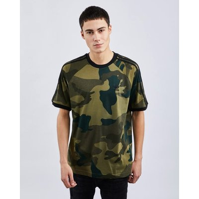 adidas Graphics 3-Stripes All Over Print Camo - T-Shirts