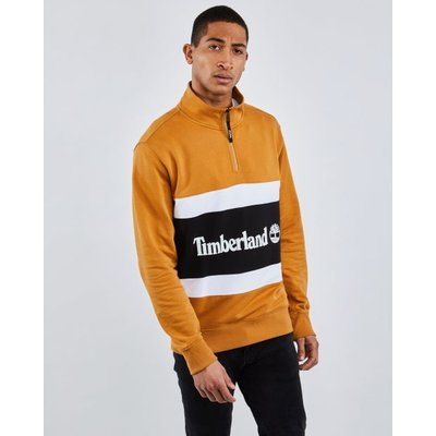 Timberland Cut & Sew Colorblock Funnel Neck - Sweatshirts