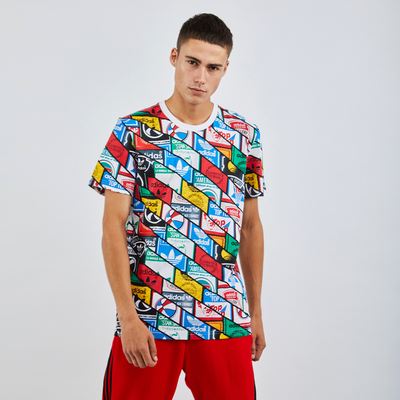 adidas Al Over Print Flag - T-Shirts | ADIDAS SALE
