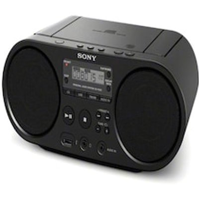 CD Radio Sony ZS PS50 Black