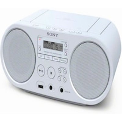 CD Radio Sony ZS PS50 White